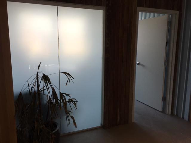 Interior window tinting from Green Light