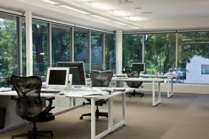 UV protection on office windows